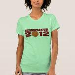 """Ropa """"12/21/2012"""" de 2012 camisetas del camisetas"""