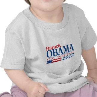 Ropa 2012 de Barack Obama Camiseta