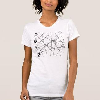 """Ropa 2012 de la camiseta de la camisa """"Web del"""
