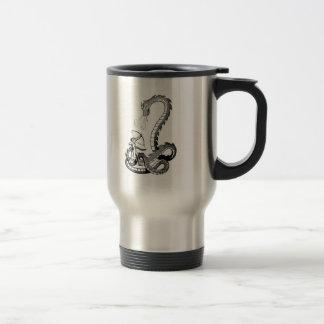 Ropa 43 del dragón tazas de café