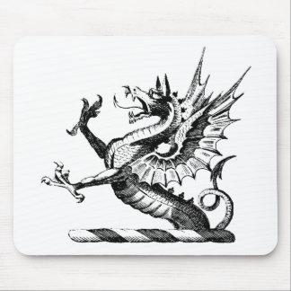 Ropa 50 del dragón alfombrillas de ratones