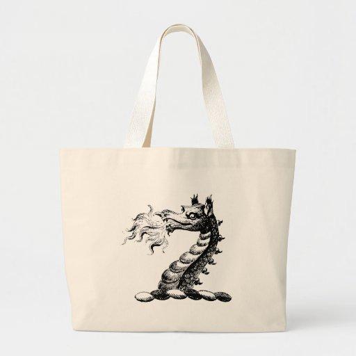 Ropa 5 del dragón bolsa de mano