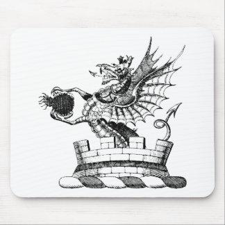 Ropa 6 del dragón tapete de ratones