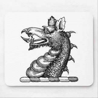 Ropa 9 del dragón tapetes de raton