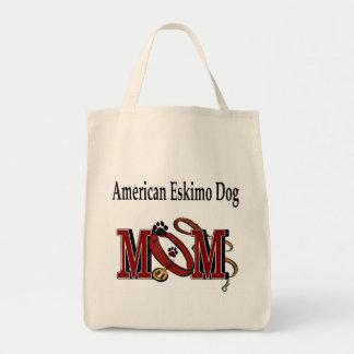Ropa americana de la mamá del perro esquimal