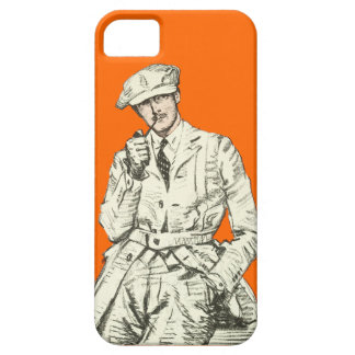 Ropa anaranjada del humo del tubo de la moda de lo iPhone 5 cobertura