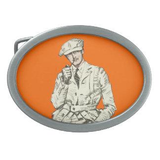 Ropa anaranjada del humo del tubo de la moda de lo hebillas cinturon