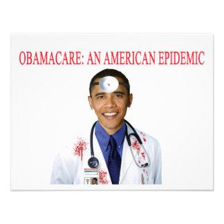 Ropa anti de la atención sanitaria de Obamacare Ob Invitación