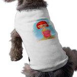 ropa barata del perro camisa de mascota