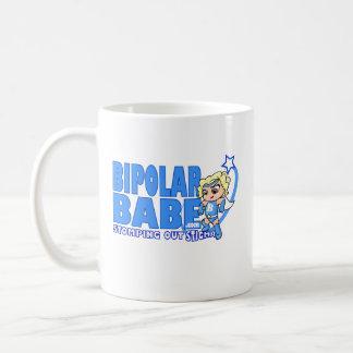 Ropa bipolar del bebé taza básica blanca