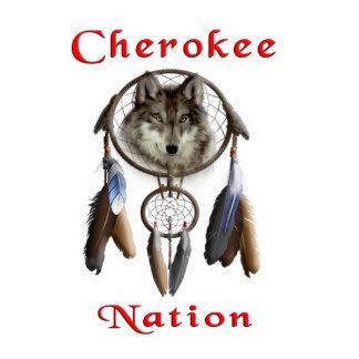 Ropa cherokee de la nación llavero fotográfico