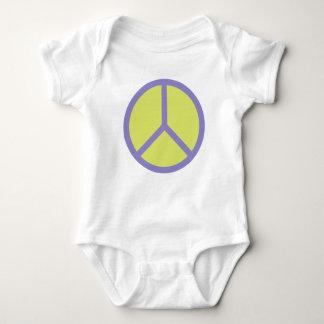 Ropa colorida del personalizado del signo de la body para bebé