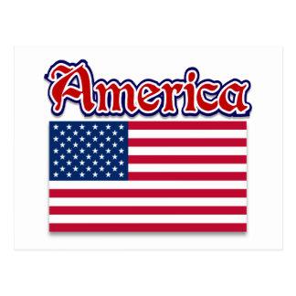 Ropa de América y regalos americanos del orgullo Postal