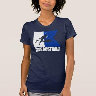 Ropa de Australia de la zambullida Camisetas