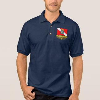 Ropa de Bonaire 2 de la zambullida Polo Camisetas