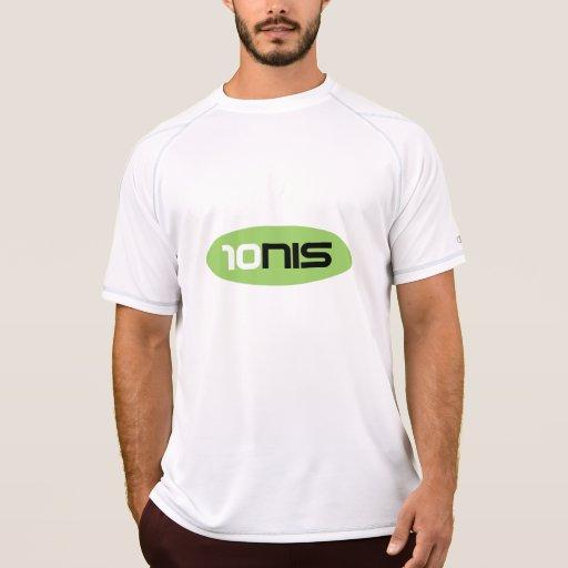 Ropa de deportes anti del sudor de la camiseta el