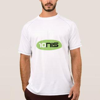 Ropa de deportes anti del sudor de la camiseta el playeras