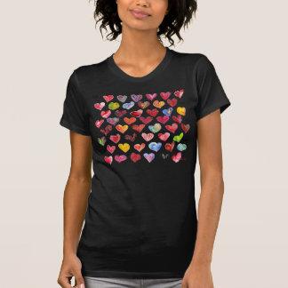 Ropa de la camiseta de 48 corazones del día de San