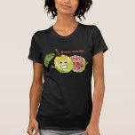 Ropa de la camiseta de la fruta del dibujo animado
