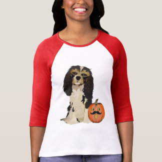 Ropa de la mascarada del perro de aguas camiseta