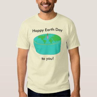 Ropa de la torta del Día de la Tierra Playeras