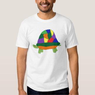 Ropa de la tortuga del arco iris poleras
