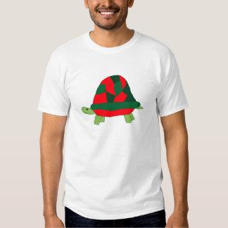 Ropa de la tortuga del navidad remeras
