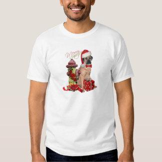 Ropa de las Felices Navidad de Corso del bastón Poleras