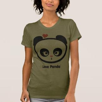 Ropa de las señoras de Panda® Pettite del amor Camisetas