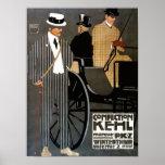 Ropa de los caballeros de Kehl de los dulces Posters