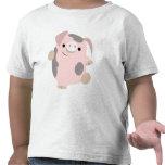 Ropa de los niños del cerdo del dibujo animado del camiseta