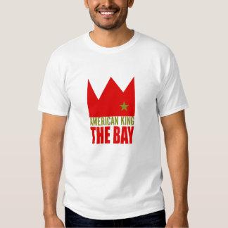 Ropa de MIMS - rey americano de la bahía Playeras