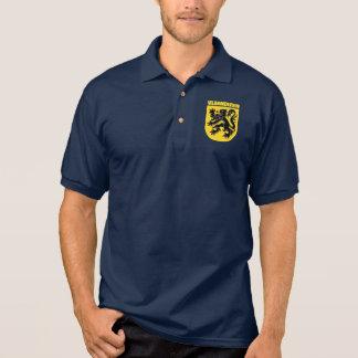 Ropa de Vlaanderen (Flandes) Polo Camiseta