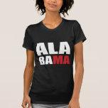Ropa del alcohol de Alabama Camisetas