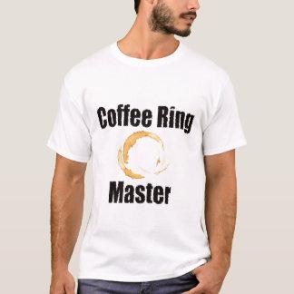Ropa del amo del anillo de café playera