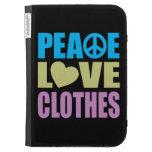 Ropa del amor de la paz