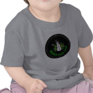 Ropa del bebé de la Feliz Año Nuevo 1 Camiseta