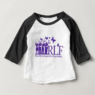 Ropa del bebé de RLF 3/4 camiseta del raglán de la Playera De Bebé