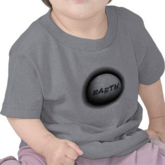 Ropa del bebé del modelo de tierra del planeta camiseta