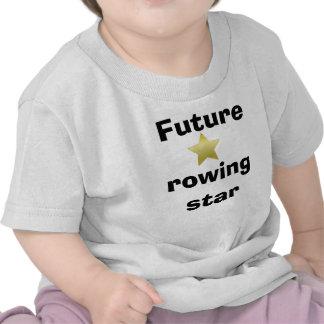 Ropa del bebé del Rowing Camisetas