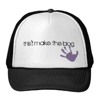 ropa del blogger del padre gorras de camionero