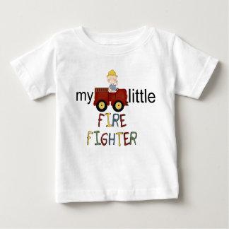ropa del bombero del niño remeras