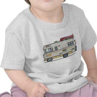 Ropa del campista rv del Winnebago Camiseta