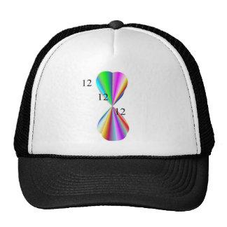 Ropa del corazón del arco iris gorra