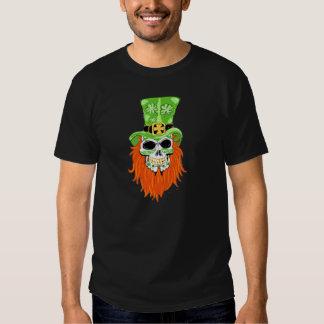 Ropa del cráneo del azúcar del trébol camisas