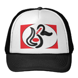 Ropa del diseño del remolino gorras de camionero