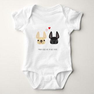 Ropa del dogo francés body para bebé