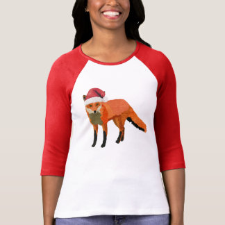 Ropa del Fox del navidad Camiseta