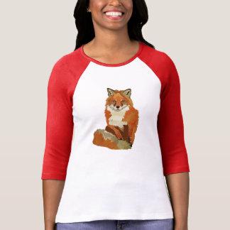 Ropa del Fox rojo Camiseta