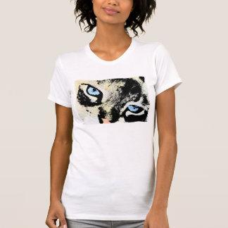 Ropa del gato de la tinta camisetas